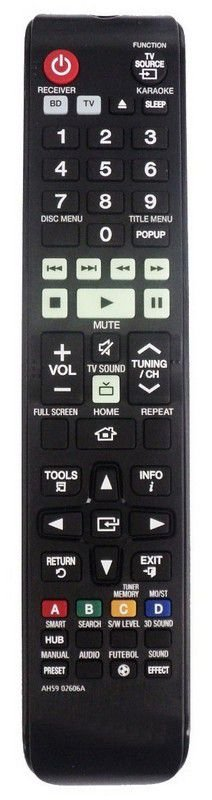 CONTROLE REMOTO HOME THEATER SAMSUNG AH59-02606A
