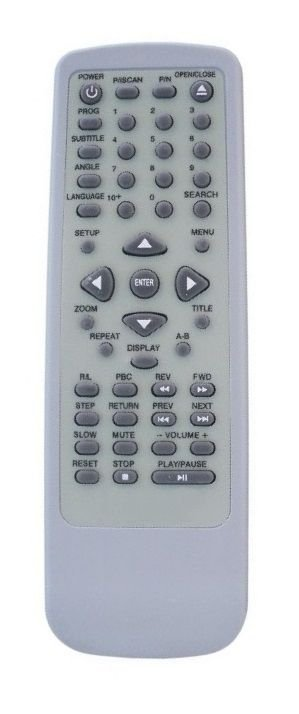 CONTROLE REMOTO DVD VICINI VC-900 / VC-902B / VC-910 / VC-911 / VC-922