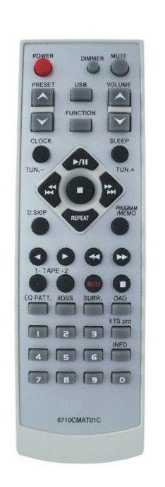 CONTROLE REMOTO SOM LG 6710CMAT01A / 6710CMAT01C