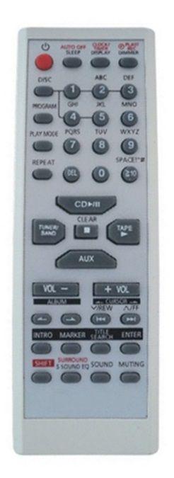 CONTROLE REMOTO SOM PANASONIC EUR7711150 / SC-PM193 / SC-PM19K