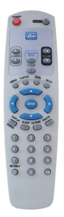 CONTROLE REMOTO TV GRADIENTE FM TF-2951 / TF-2952 / TF-2152FM / ETC