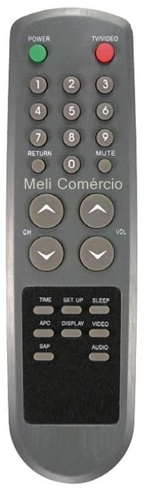 CONTROLE REMOTO TV GRADIENTE 2025 ST