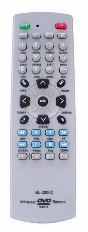 CONTROLE REMOTO UNIVERSAL PARA DVD GL-2000C