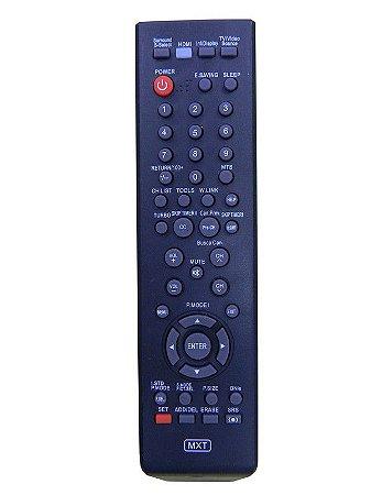 CONTROLE REMOTO TV UNIVERSAL SAMSUNG TODOS OS MODELOS