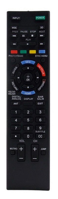 CONTROLE REMOTO TV LCD / LED SONY BRAVIA RM-YD095 / KDL-50R555A / KDL-50R557A / KDL-60R555A / KDL-60R557A / KDL-70R555A