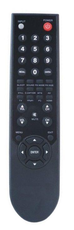 CONTROLE REMOTO TV LCD / LED SEMP TOSHIBA CT6340 / LC1945W / LC2245W / LC2645W / LC3245W / LC4245W