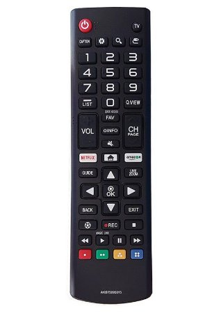 CONTROLE REMOTO TV LCD LG AKB75095315