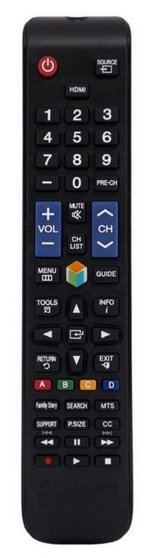 CONTROLE REMOTO TV LCD / LED SAMSUNG SMART TV AA59-00588A / BN98-03767B