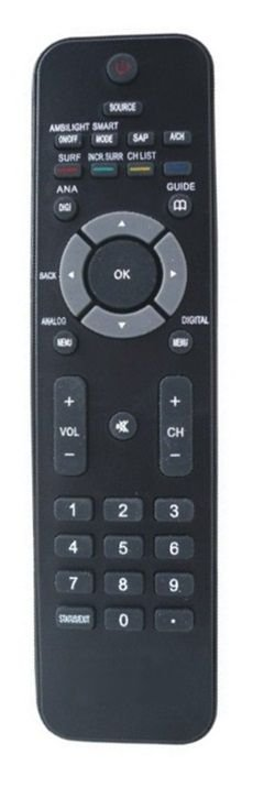 CONTROLE REMOTO TV LCD PHILIPS 42PFL7803D / 52PFL7803D