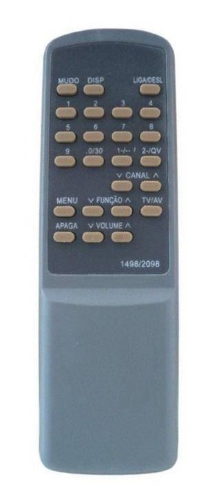CONTROLE REMOTO TV MITSUBISHI TC1490 / TC1492 / TC1498 / TC1499 / TC2090 / TC2092 / TC2098 / TC2099 / TC2198 / TC20A