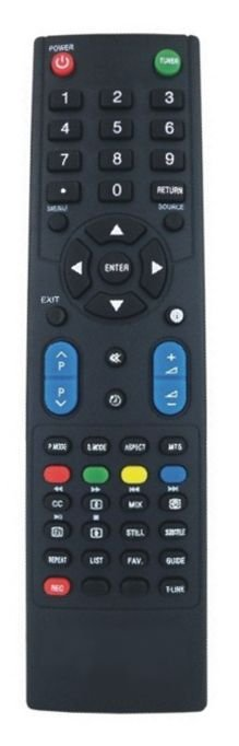 CONTROLE REMOTO TV LCD / LED PHILCO PH32M / PH42M