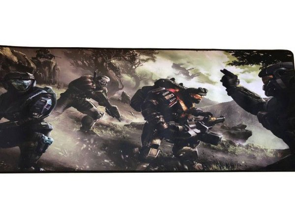 MOUSEPAD GAMER EXTRA GRANDE 80X30CM - HALO 2