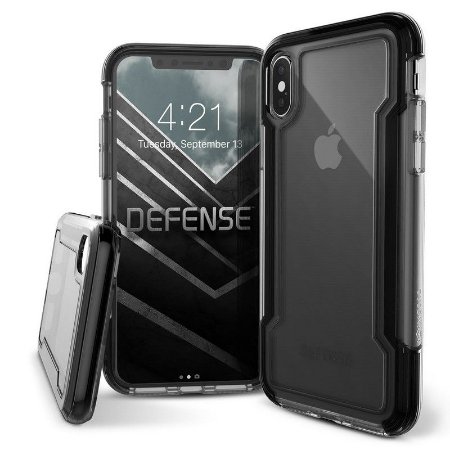 CAPA CASE DEFENSE CLEAR X-DORIA IPHONE X