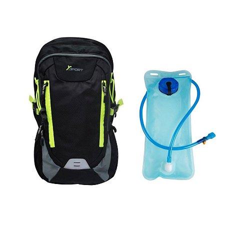 Mochila Esportiva com Bolsa de Hidratação 2 Litros YS29011 Yin's