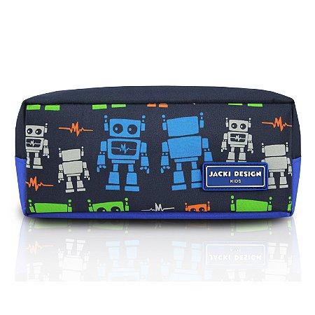 Estojo Necessaire Escolar Infantil Menino Sapeka Jacki Design - AHL17519