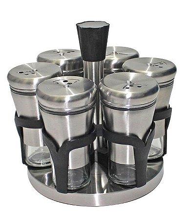 Porta Condimentos com 6 Peças UD15084 - Uny Home
