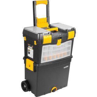 Caixa plástica com rodas CRV0400 Vonder - 61.05.040.000