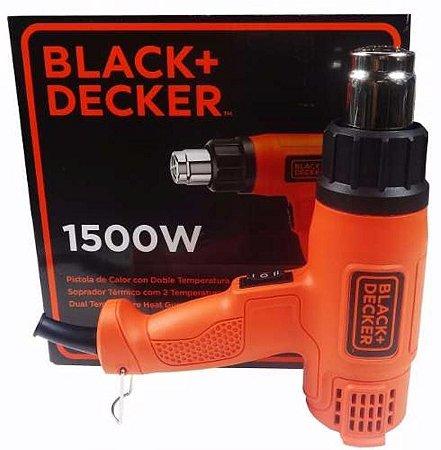 Soprador Térmico Black+Decker - HG1500-BR Voltagem:127V