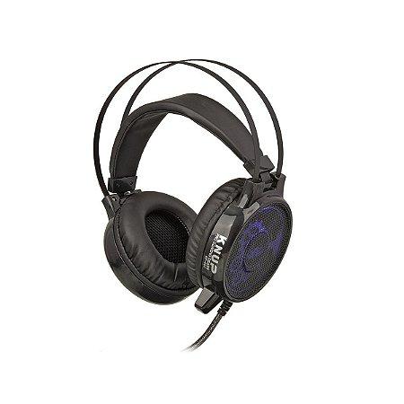 Fone De Ouvido Headset Gamer 7.1 Sound Usb Microfone Knup - KP-402