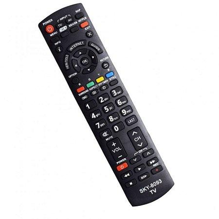 Controle Remoto TV LCD Panasonic - Sky-8093