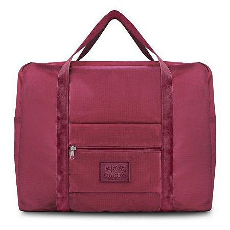 Bolsa de Viagem Dobrável GG (Viagem) Jacki Design - ARH18756 Cor:Vinho