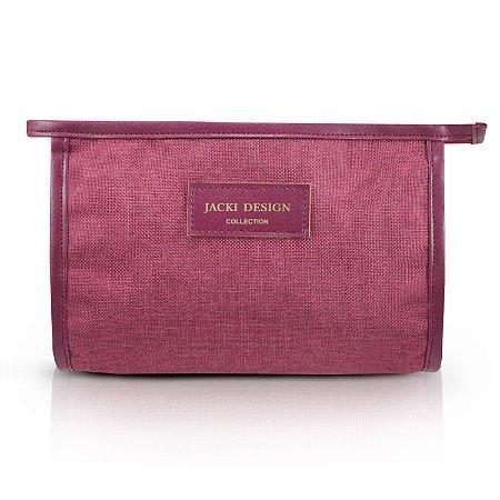 Necessaire Envelope (BE YOU) Jacki Design - ABC19820 Cor:Vinho