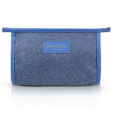 Necessaire Envelope (BE YOU) Jacki Design - ABC19820 Cor:Azul