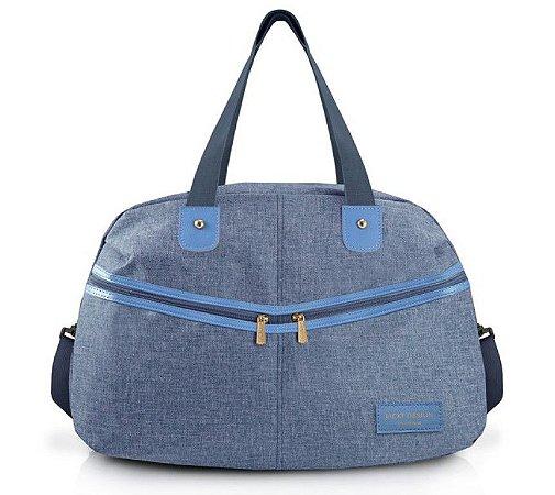 Bolsa de Viagem Be You Jacki Design ABC19826 Cor:Azul