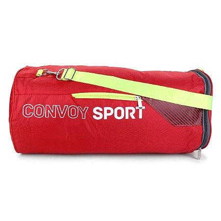 Bolsa esportiva para Academia Convoy Sport Yin's YS25014 Vermelho