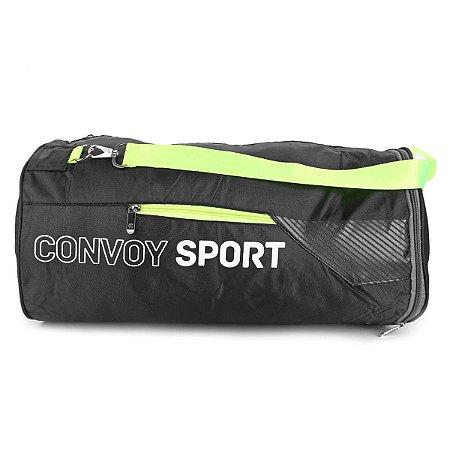 Bolsa esportiva para Academia Convoy Sport Yin's YS25014 Preto