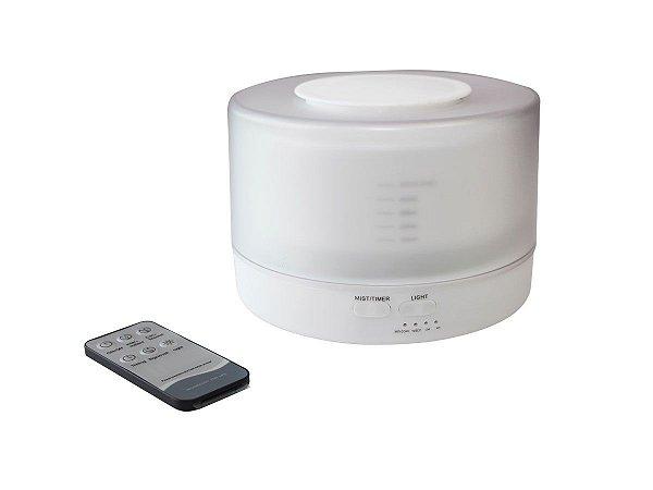 Difusor de Aroma com Vaporizador 500ml Led 4 em 1 Umidificador HQ-0780