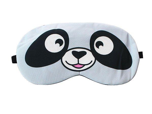 Máscara de Gel Térmico para Descanso Panda Cor:Azul