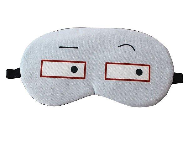 Máscara de Gel Térmico para Descanso Estampado:Óculos Azul