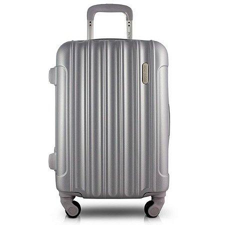 Mala de Viagem ABS (Trip) Prata Jacki Design - AHZ19879