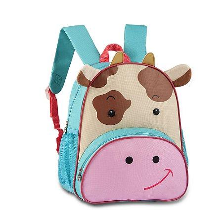 Mochila Escolar Infantil CLIO Pets Vaquinha - CP2097P