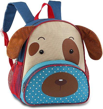 Mochila Escolar Infantil CLIO Pets Cachorro - CP2091P