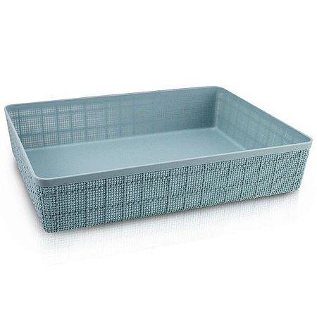 Cesto Organizador Raso (G) Cozy Jacki Design - ATH19788 Cor:Azul