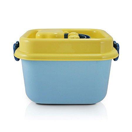 Caixa Organizadora Infantil 8L (Organizadores) Jacki Design - AHX18716 Cor:Azul