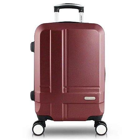 Mala de Viagem Bordo ABS Executiva Vinho Jacki Design - AHZ20887