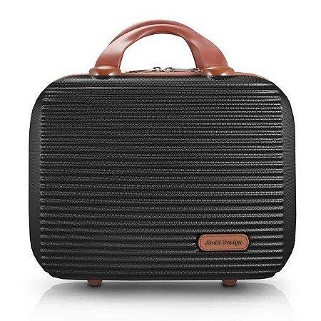 Frasqueira de Viagem Premium Preto Jacki Design - AHZ20882