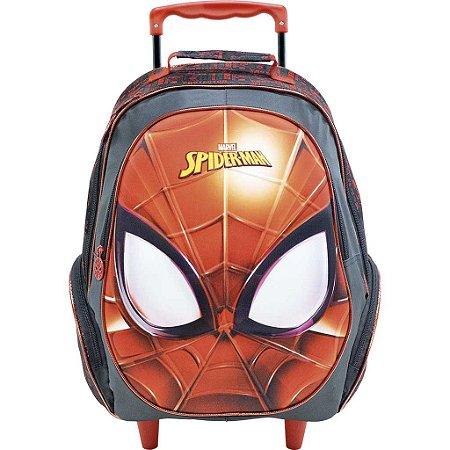 Mochila Rodas 16' Homem Aranha Spider Man Masked Xeryus 8640