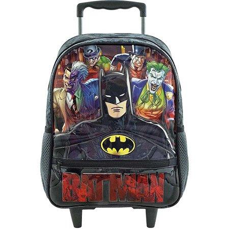 Mochila com Rodas 16' Batman Danger Xeryus - 8840