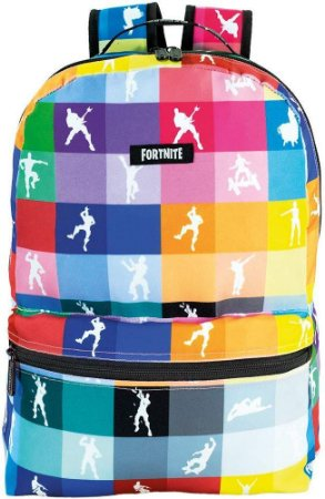 Mochila Esportiva Fortnite Colorida  F12 Xeryus - 9191