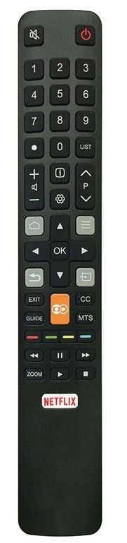 CONTROLE REMOTO TV LCD SEMP TCL SKY-8027