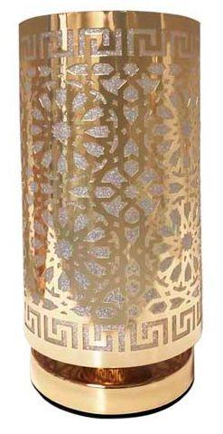 Abajur de Metal Tubo Dourado Mod.03 BIVOLT 40W - AL55016