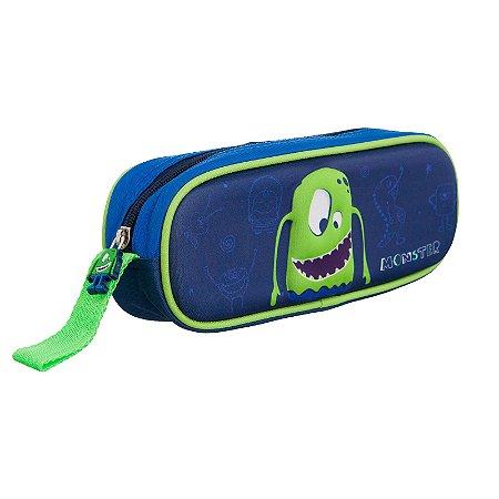 Estojo Infantil Convoy Monster Kids - YS42017