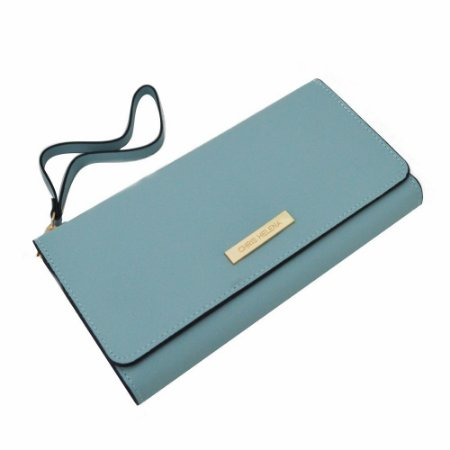 Carteira Feminina Porta Celular e Batom Chris Helena - YS39086 Azul