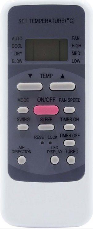 CONTROLE REMOTO AR CONDICIONADO Midea Piso/ teto R51c - SKY-8079