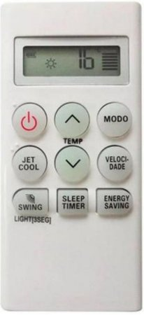 CONTROLE REMOTO AR CONDICIONADO LG - SKY-9008