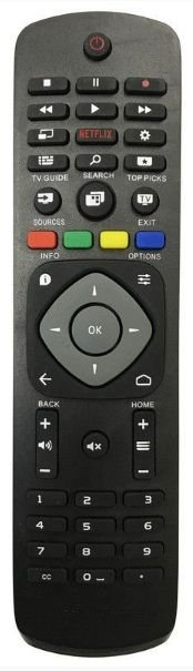 CONTROLE REMOTO TV LCD SMART PHILIPS C/ NETFLIX